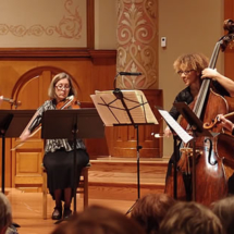 Chi-chi Nwanoku performs with portland baroque orchestra