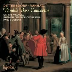 Dittersdorf Vanhal CD Chi-chi Nwanoku double bass London